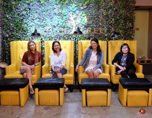 Metro Moms Holiday Pampering 2019 no Salão e Café Lemon Tree | Querida Kitty Kittie Kath 1